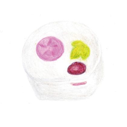 毎日が和菓子日和 | 東京・一炉庵 | もらい水(季節の和菓子)