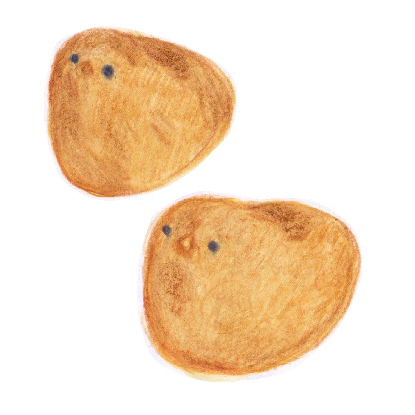 毎日が和菓子日和 | 東京ひよ子 狸だんご本舗| たぬきロール