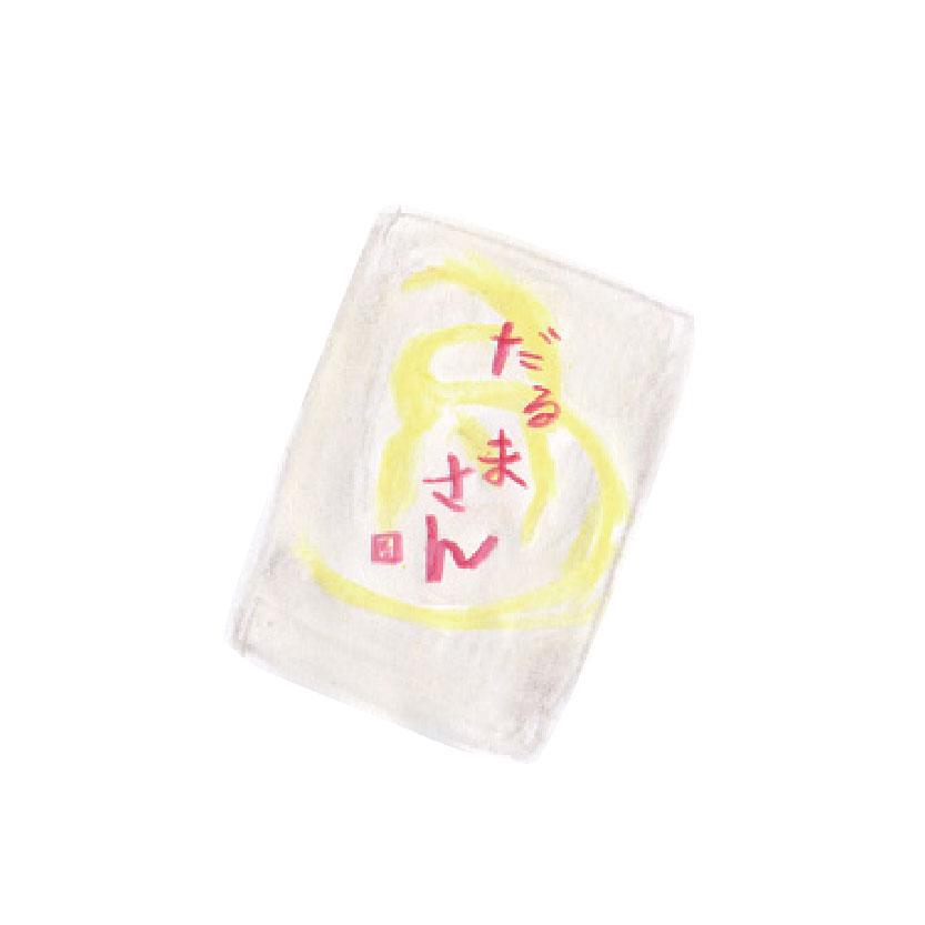 毎日が和菓子日和 | 京都・笹屋伊織 | だるまさん(パッケージ)