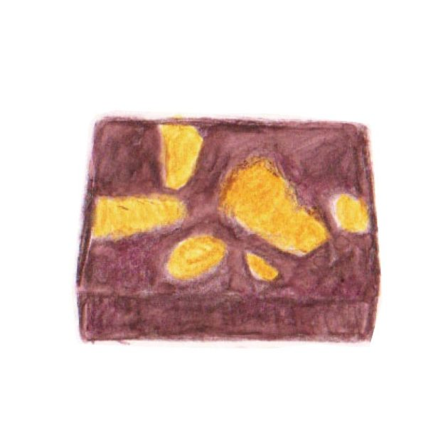 毎日が和菓子日和   引網香月堂   富山栗の栗蒸し羊羹(季節の和菓子)