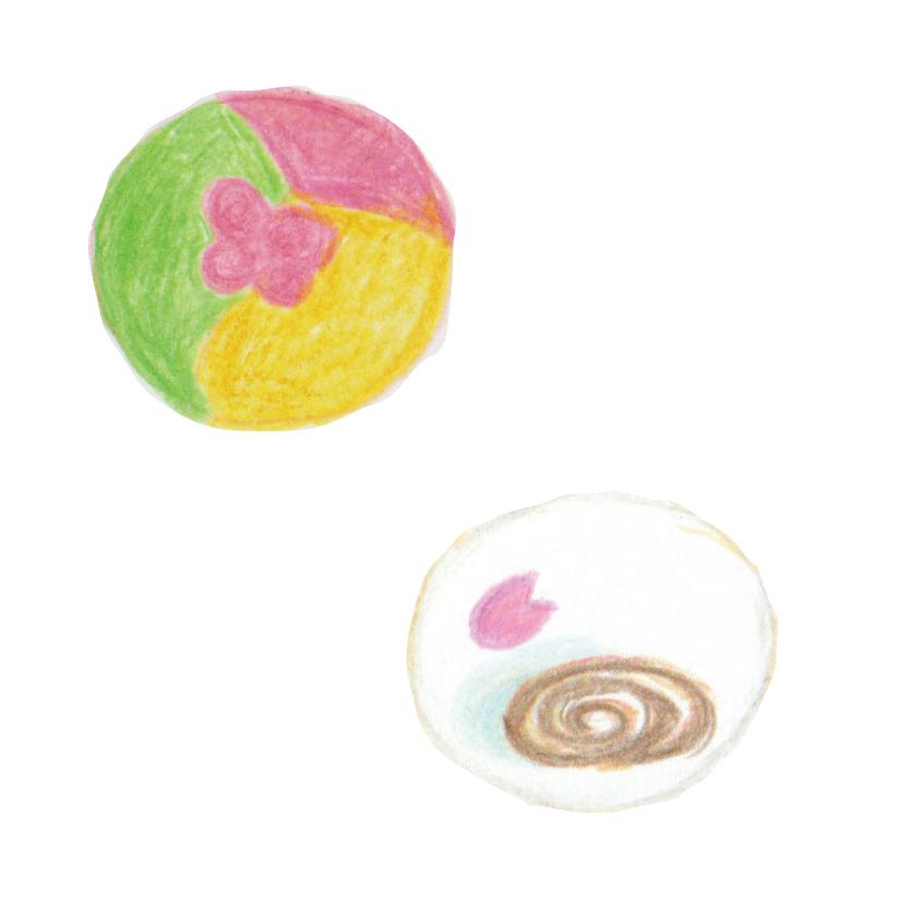 毎日が和菓子日和 | 花鳥風月 | 春ららら と 春の水