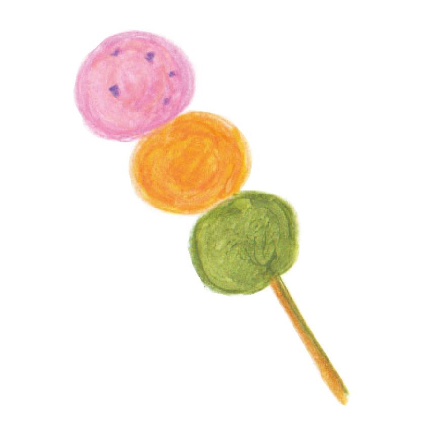 毎日が和菓子日和 | 大倉山青柳 | 花見だんご