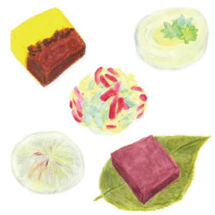 毎日が和菓子日和 | 菓子屋いろどり | 2020夏