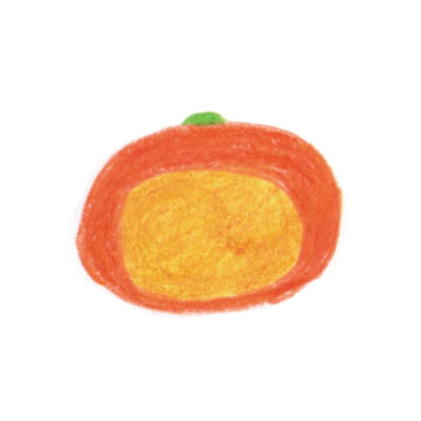 毎日が和菓子日和 | 歳時記 | ハロウィン | 花鳥風月 | 東京都 多摩市 聖蹟桜ヶ丘 | 上生菓子 ハロウィン(断面イメージ)
