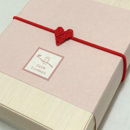 毎日が和菓子日和 | カフェいろどり | 2021バレンタインデーの御菓子