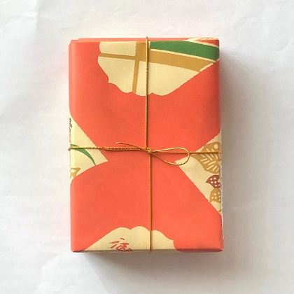 季節の和菓子 | 奈良 萬々堂通則 | 包み紙
