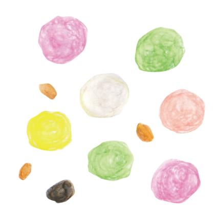 毎日が和菓子日和 | 東京・扇屋 | ひなあられ