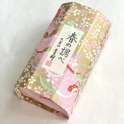 毎日が和菓子日和   神奈川・大倉山青柳   春の調べ(箱・パッケージ)